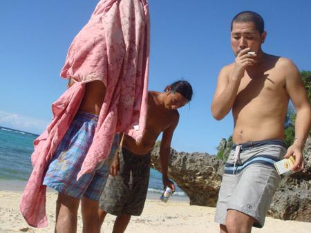 jud à Hiroshima - Okinawa, plage