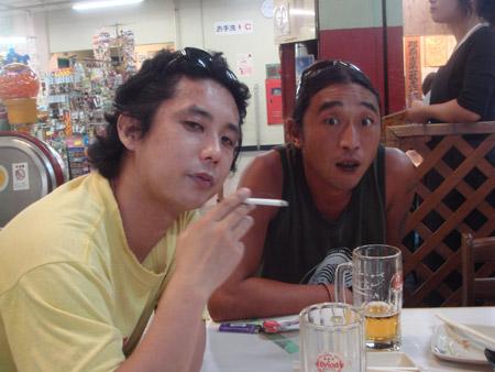jud à Hiroshima - Okinawa, le marché de Naha