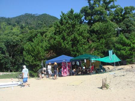 jud à Hiroshima - camping miyajima