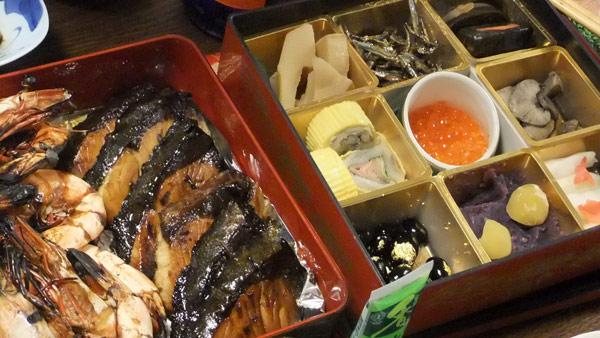 jud à Hiroshima - repas Shogatsu