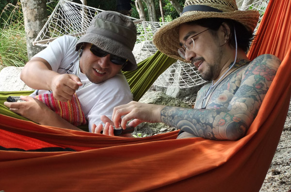 jud à Hiroshima - plage et tatouage japon