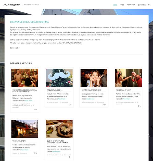Jud Hiroshima nouveau blog